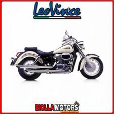 marmitta completa leovince honda vt 750 c2 ace shadow 1998- silvertail k02 accia