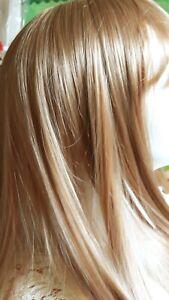 Parrucca donna lunga Topper capelli biondi ramato con clips