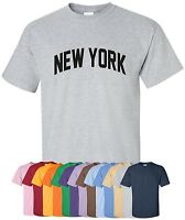 """""""New York"""" T-Shirt S-4XL, 30+ Colors! empire state of mind nyc big apple subway"""
