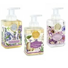 Set / 3 Michel Design Works Foaming Liquid Hand Soap Ast Lavender Lilac Rhapsody