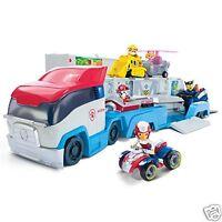 Camión Transporte de Coches Paw Patroller Patrulla Canina Con Racer y su Moto