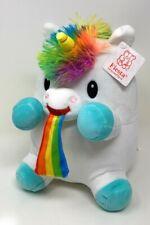 "NEW Barfing Rainbow Unicorn Plush (9"") 2020 Fiesta NWT"