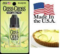 Key Lime Pie Criss Cross Vape Vapor USA 10ML Bottle (24 HIGH) - $4.99