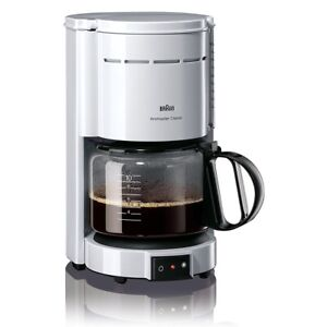 Braun Domestic Home KF 47/1 Kaffeemaschine weiß Aromaster