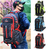 60L Large Waterproof Backpack Rucksack Hiking Camping Travel Bag Outdoor Bag US