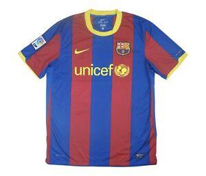 Barcelona 2010-11 Original Home Shirt (Excellent) L Soccer Jersey