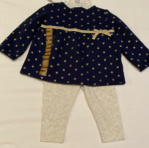 Carter's Baby Girl 2-pc Outfit size 12 months NWT
