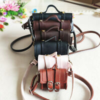 BJD Bag PU Handbag Shoulder Chain Bags for 1/3 1/4 Grown BJD Doll Multi Color