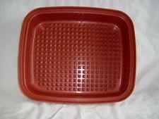 Tupperware Lg Season Serve Marinade Container #1294 Bottom Only Meat Veggies