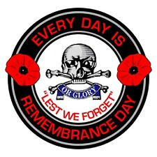 17th/21st Lancers Remembrance Day Inside Car Window Clear Cling Sticker 17/21
