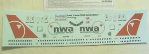 Eastern Express Boeing 757-300 Northwest 1/144 Scale decals & instructions only