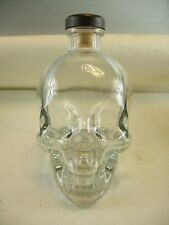 Crystal Head Vodka Skull Bottle Clear 750 in original box Empty