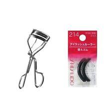SHU UEMURA EYELASH CURLER & Shiseido Eyelash Curler Sort Rubber 214
