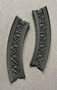 """(2) Marklin 8977 Z 5-3/4"""" 45° Curved Ramp Track Section Used Your Train Board"""