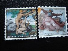 VATICANO - sello yvert y tellier nº 970 973 matasellados (A28) stamp