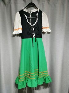 """D1 Ex hire wench fancy dress costume outfit 28"""" chest 22"""" waist"""