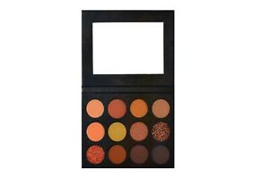 12 colour natural eyeshadow palette