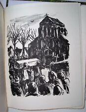 Raymonde Vincent. Campagne. Lithographies de Charles Bouleau numeroté tirage 290