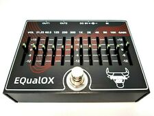 More details for metal ox, oxp-104 equalox,10 band eq with master vol, guitar effect pedal (uk)