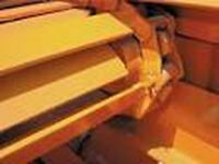 AIRFLOW Salt Spreader Hopper Conveyor Drag Chain 14-SS6E-SS Buyers P/N 1450161