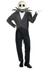 ADULT JACK SKELLINGTON NIGHTMARE BEFORE CHRISTMAS COSTUME SIZE XL (w/defect)