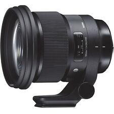 Sigma 105mm F1.4 DG HSM Art Lens - Nikon Fit