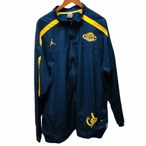 Cal Bears Nike Air Jordan Fit Storm Full Zip Up Players Jacket 3XLT