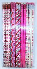 PENCIL SET 12 PACK VALENTINES HOLIDAY THEME, VARIED STYLES, BRAND NEW SEALED