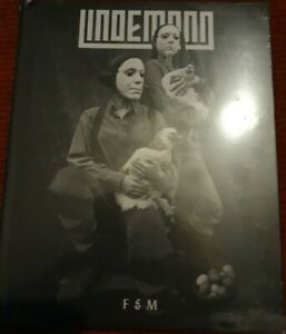 LINDEMANN - F & M (Deluxe Edition) - CD (CD in hard-back book sleeve)