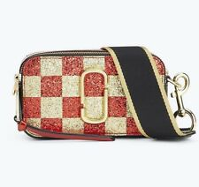 ON HAND!!! Marc Jacobs Checkerboard Snapshot Small Camera Bag Crossbody