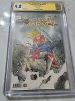 💥 Captain Marvel: The End #1  CGC SS 9.8 Signed by Peach Momoko 💥