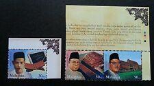 Famous Scholar-Zainal Abidin Malaysia 2002 Academic Zaba (stamp color code) MNH