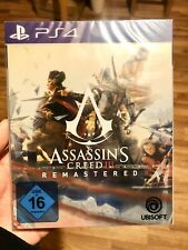 PS4 Assassins Creed 3 Remastered Steelbook Signature Collector Limited Edition!!
