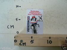 STICKER,DECAL VREDESTEIN  FIETSBAND NR 1 WIELRENNEN CYCLING