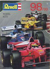 REVELL Plastic Model kit Aerei Navi del veicolo 1998-99 GAMMA DI PRODOTTI CATALOGO
