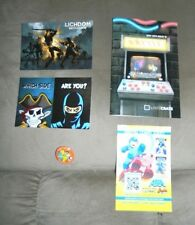 Rare Loot Crate Issue 16 November 2014 Magazine & Pin Back Button Battle + Extra
