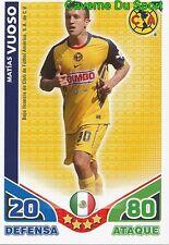 012 VICENTE VUOSO CF.AMERICA MEXICO CARD ESTRELLAS MONDIALES 2010 TOPPS