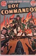 Boy Commandos #1 Simon & Kirby DC Comic1973
