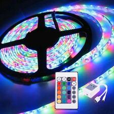 INCANTEVOLE telecomando 5m 300 LED RGB SMD Impermeabile Striscia Luce 12v Adattatore
