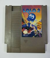 Adventures of Lolo 2 (Nintendo Entertainment System NES, 1990) Tested