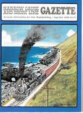 Narrow Gauge Gazette 90 Chama Colorado coaling Logging Oahu Tincup Sandy River