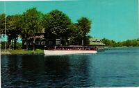 Vintage Postcard  - Longue Vue Island On St Lawrence River NEW YORK NY  #1194