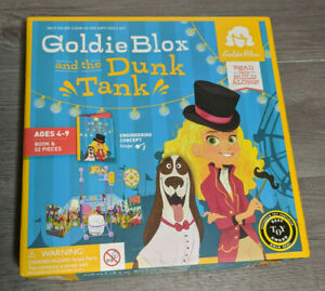 Goldie Blox and the Dunk Tank Building Playset Toy & Book, Missing 1 Piece
