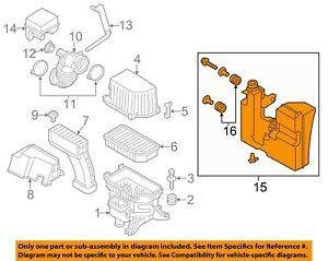 KIA OEM 12-13 Soul Air Cleaner Intake-Lower Resonator 281902K600