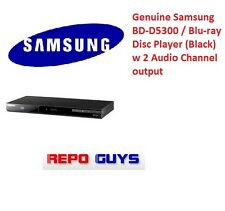 Genuine Samsung Bd-D5300 / Blu-ray Disc Player (Black) w 2 Audio Channel output