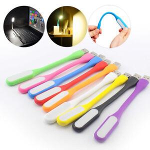 Mini LED USB book Flexible Reading Bright Night Light Lighting for PC Power Bank
