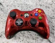 Official Microsoft xbox 360 Wireless Controller Chrome Red Edition FREE SHIPPING