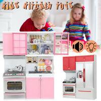 Cuisine Set de Jeux Jeu Enfants Rôle Jouet Bébé Musickitchenware +A