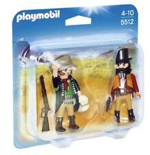 Boîte 2 Figurine 2-Pack SHÉRIF et Bandit Far West Playmobil 5512 Originelle RARE