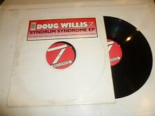 "DOUG WILLIS - Syndrum Syndrome EP - UK 8-track 12"" Vinyl Single"